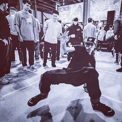 picture of just 4 funk breakdance workshop